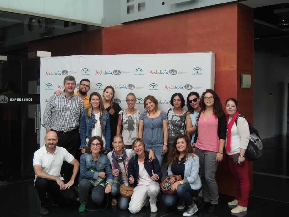 Grupo de Alumnos del Hotel Escuela Bellamar